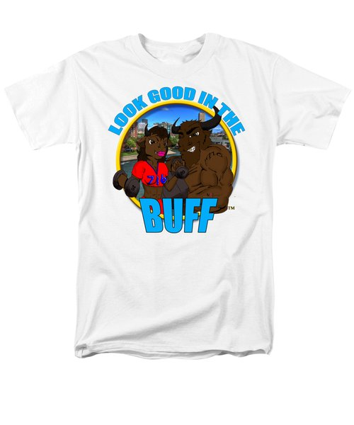 09 Look Good In The Buff Men's T-Shirt  (Regular Fit) by Michael Frank Jr