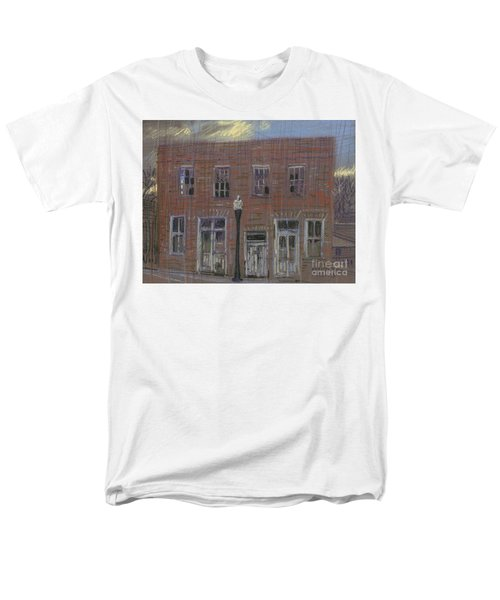 Men's T-Shirt  (Regular Fit) featuring the painting Abandoned by Donald Maier