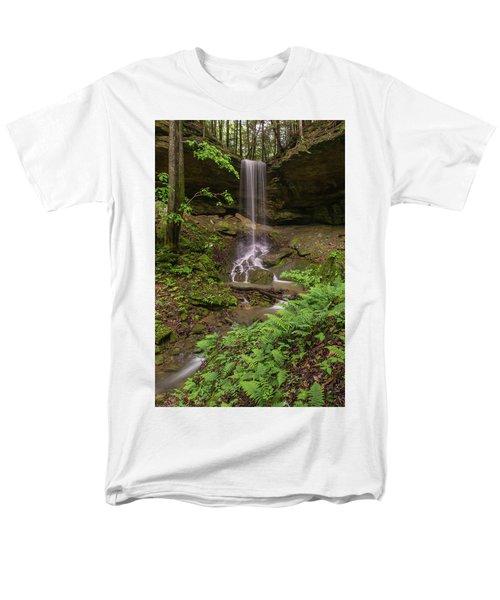 Alcorn Falls. Men's T-Shirt  (Regular Fit) by Ulrich Burkhalter