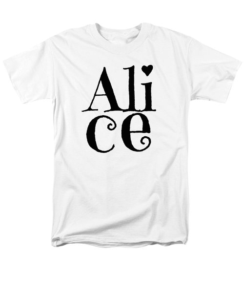 Alice Men's T-Shirt  (Regular Fit) by Alice Gipson