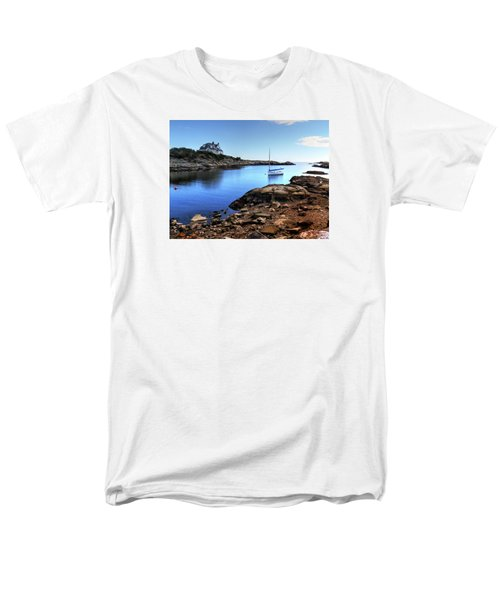 Men's T-Shirt  (Regular Fit) featuring the photograph Almost Paradise Newport Ri by Tom Prendergast
