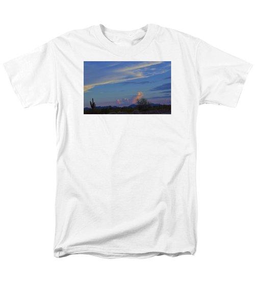Men's T-Shirt  (Regular Fit) featuring the photograph Arizona Desert by Helen Haw