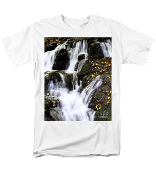 Men's T-Shirt  (Regular Fit) featuring the photograph Badger Dingle Fall by Baggieoldboy