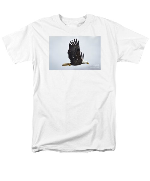 Men's T-Shirt  (Regular Fit) featuring the photograph Bald Eagle by Ricky L Jones