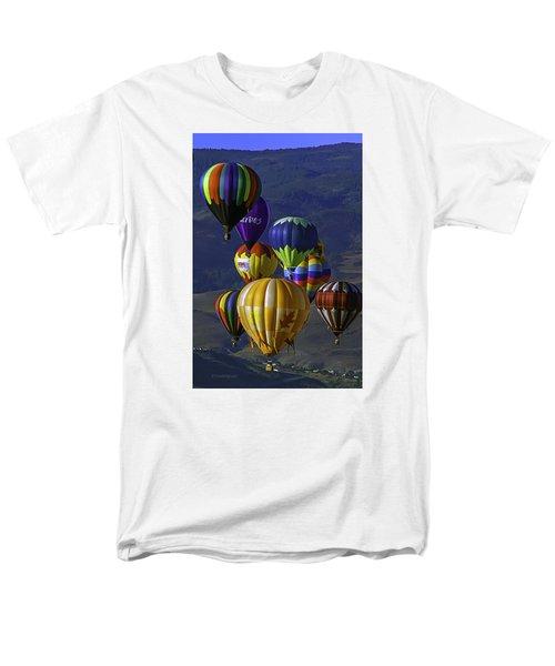 Balloons Over Reno Men's T-Shirt  (Regular Fit) by Dorothy Cunningham
