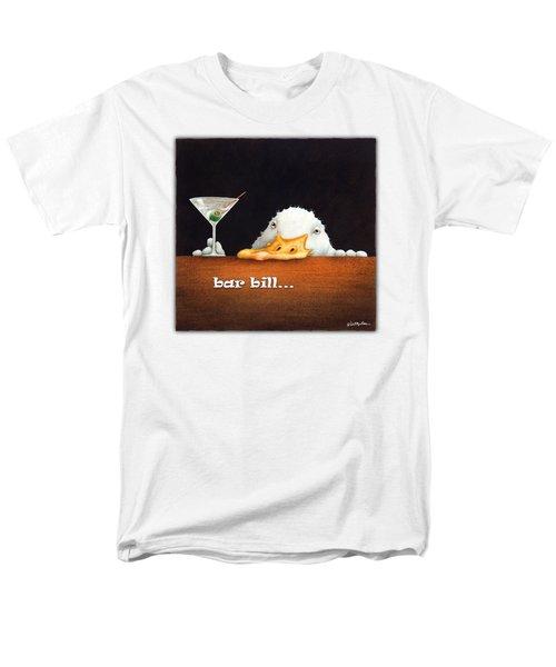 Bar Bill... Men's T-Shirt  (Regular Fit) by Will Bullas