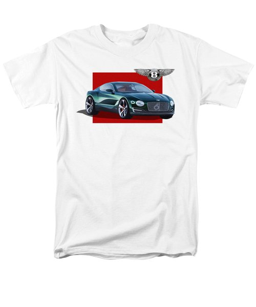 Bentley E X P  10 Speed 6 With  3 D  Badge  Men's T-Shirt  (Regular Fit) by Serge Averbukh