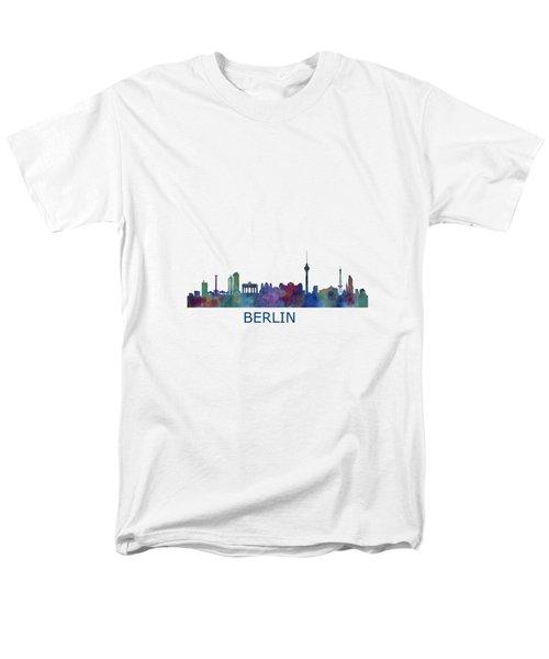 Berlin City Skyline Hq 1 Men's T-Shirt  (Regular Fit) by HQ Photo