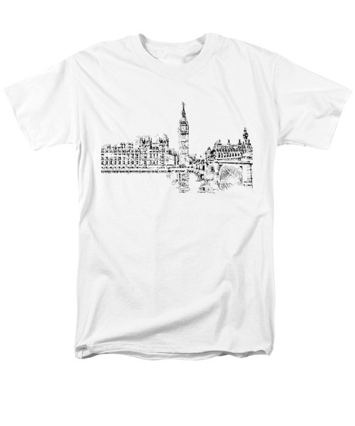 Big Ben Men's T-Shirt  (Regular Fit) by ISAW Gallery