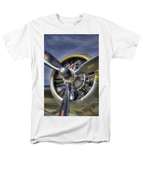 B-17 Men's T-Shirt  (Regular Fit) by Joe  Palermo