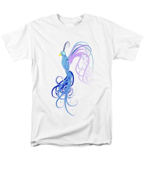 Blu Men's T-Shirt  (Regular Fit) by Diq