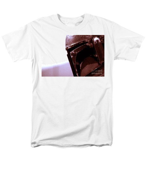Men's T-Shirt  (Regular Fit) featuring the photograph Boba Fett Helmet 34 by Micah May
