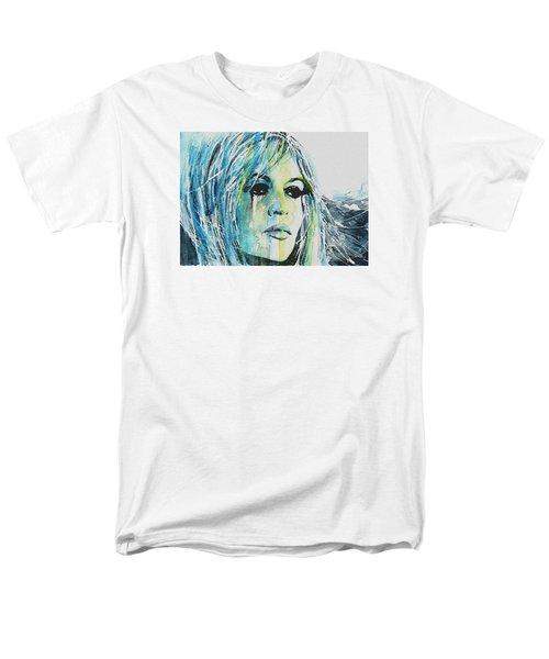 Brigitte Bardot Men's T-Shirt  (Regular Fit) by Paul Lovering