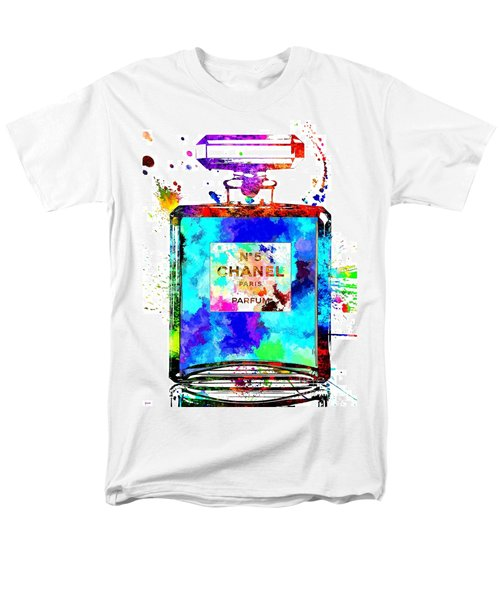 Chanel No. 5 Grunge Men's T-Shirt  (Regular Fit)