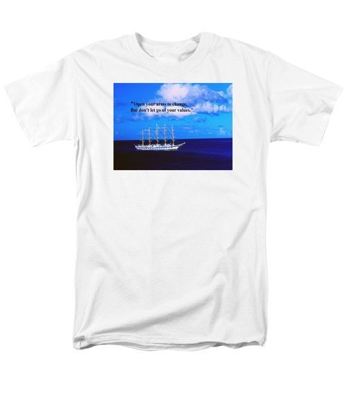Men's T-Shirt  (Regular Fit) featuring the photograph Change by Gary Wonning