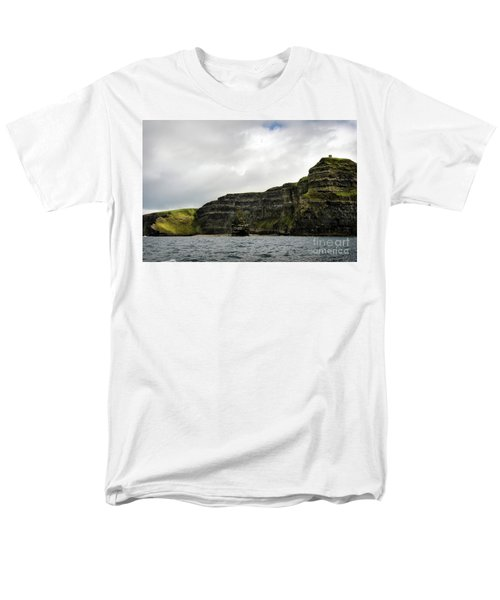 Men's T-Shirt  (Regular Fit) featuring the photograph Cliffs Of Moher From The Sea by RicardMN Photography