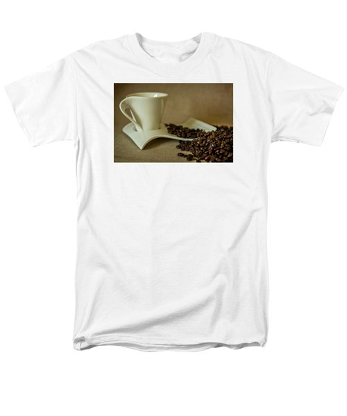 Coffee Time Men's T-Shirt  (Regular Fit) by Sabine Edrissi