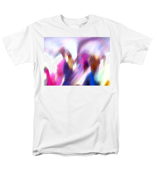 Color Dance Men's T-Shirt  (Regular Fit)