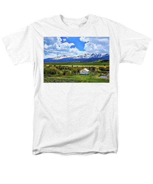 Colorado Mountain Vista Men's T-Shirt  (Regular Fit) by L O C