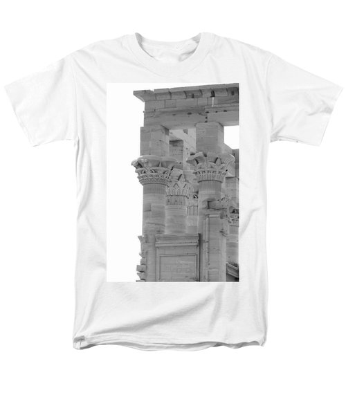 Columns Men's T-Shirt  (Regular Fit) by Silvia Bruno