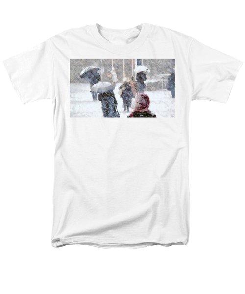 First Snow Men's T-Shirt  (Regular Fit) by Gun Legler