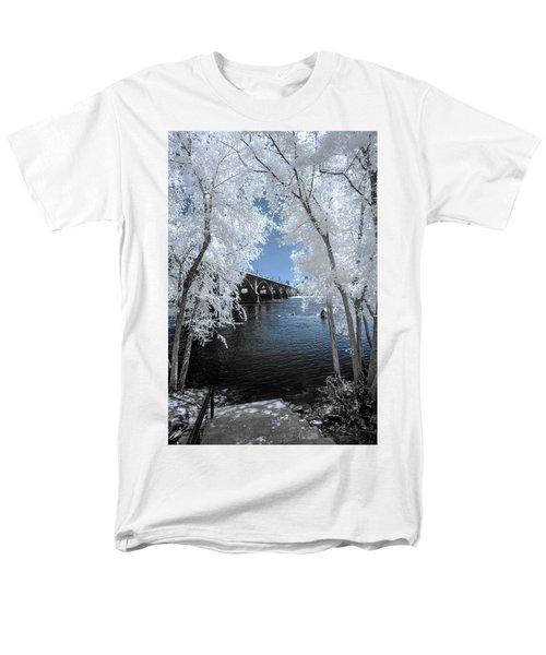 Gervais Street Bridge In Ir Men's T-Shirt  (Regular Fit) by Charles Hite