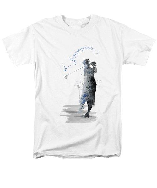 Golfer Men's T-Shirt  (Regular Fit) by Marlene Watson