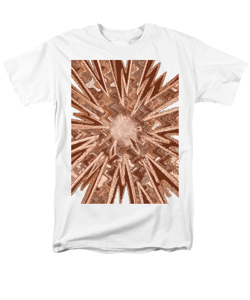 Goodluck Star Sparkles Obtained In Meditative Process Navinjoshi Artist Fineartamerica Pixels Men's T-Shirt  (Regular Fit) by Navin Joshi