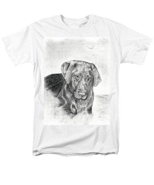 Men's T-Shirt  (Regular Fit) featuring the drawing Gozar by Mayhem Mediums