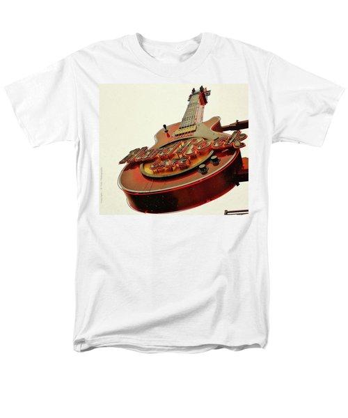 Hard Rock Cafe' Men's T-Shirt  (Regular Fit) by Al Fritz