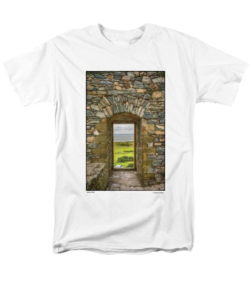 Harlech View Men's T-Shirt  (Regular Fit) by R Thomas Berner