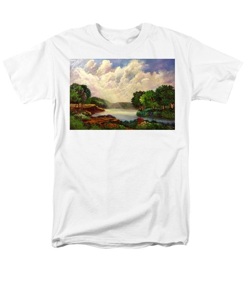 His Divine Creation Men's T-Shirt  (Regular Fit) by Randy Burns