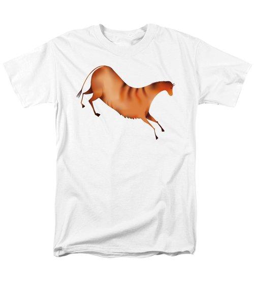 Horse A La Altamira Men's T-Shirt  (Regular Fit) by Michal Boubin
