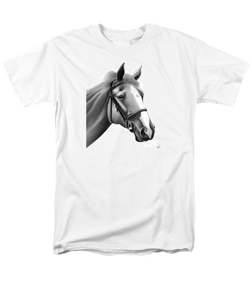 Men's T-Shirt  (Regular Fit) featuring the painting Horse by Rand Herron