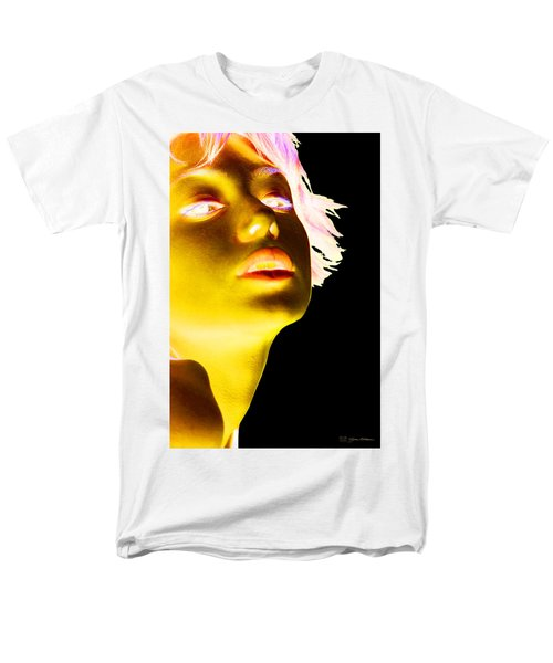 Inverted Realities - Yellow  Men's T-Shirt  (Regular Fit) by Serge Averbukh
