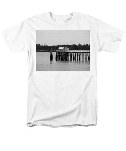 Men's T-Shirt  (Regular Fit) featuring the photograph Jonesport, Maine by Trace Kittrell