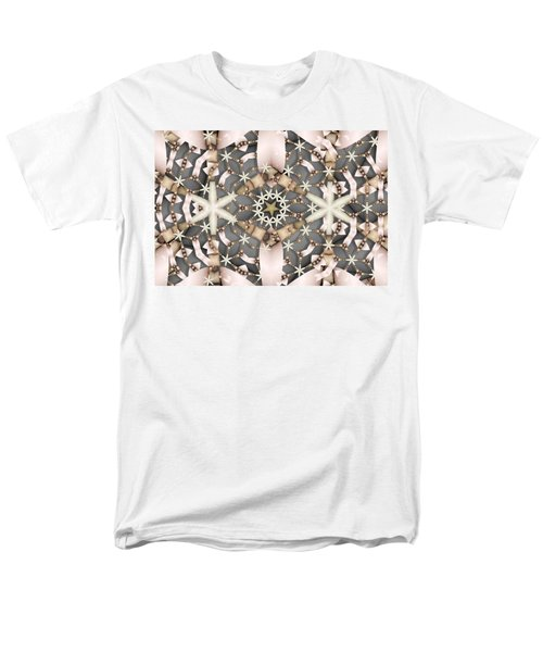 Men's T-Shirt  (Regular Fit) featuring the digital art Kaleidoscope 97 by Ron Bissett