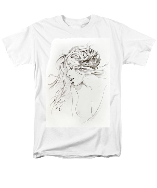 Kiss Of Wind Men's T-Shirt  (Regular Fit) by Anna Ewa Miarczynska