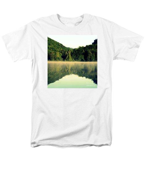 Lake Men's T-Shirt  (Regular Fit) by France Laliberte