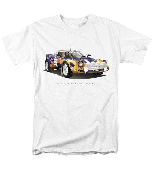 Lancia Stratos Hf Men's T-Shirt  (Regular Fit) by Alain Jamar