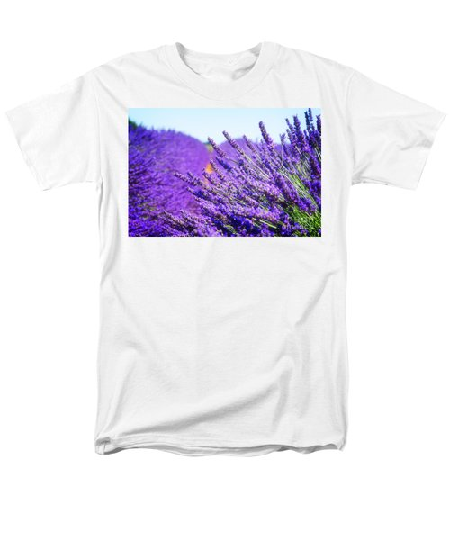 Lavender Field Men's T-Shirt  (Regular Fit) by Anastasy Yarmolovich