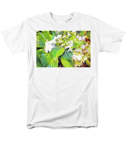 Men's T-Shirt  (Regular Fit) featuring the photograph Little Orchids by Mindy Newman