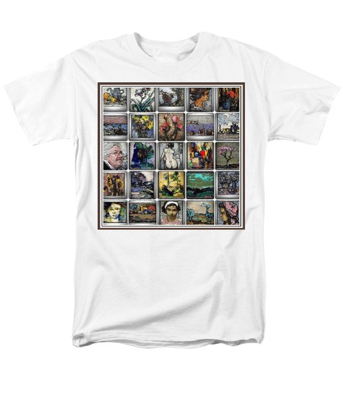 Panorama Digital Graphics 1 Men's T-Shirt  (Regular Fit) by Pemaro