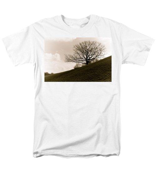 Lonely Tree Men's T-Shirt  (Regular Fit) by Sergey Simanovsky