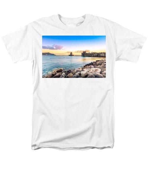 Methoni's Castle / Greece. Men's T-Shirt  (Regular Fit) by Stavros Argyropoulos