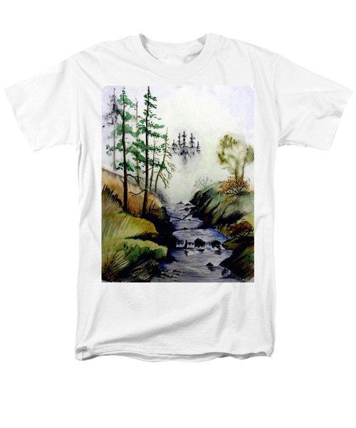 Misty Creek Men's T-Shirt  (Regular Fit) by Jimmy Smith