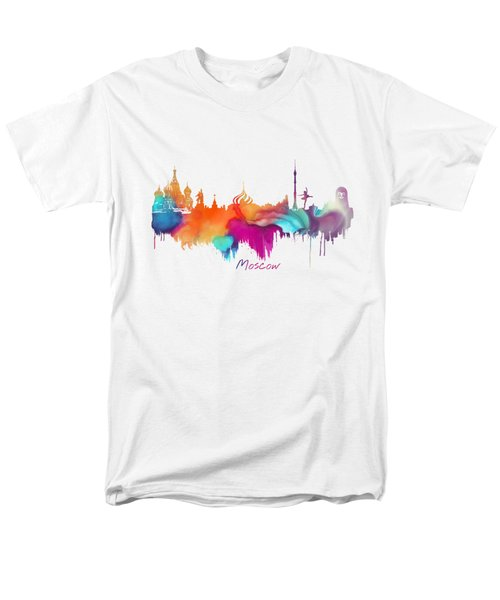 Moscow  Men's T-Shirt  (Regular Fit) by Justyna JBJart