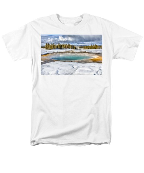 Nature's Painting Men's T-Shirt  (Regular Fit) by Yeates Photography