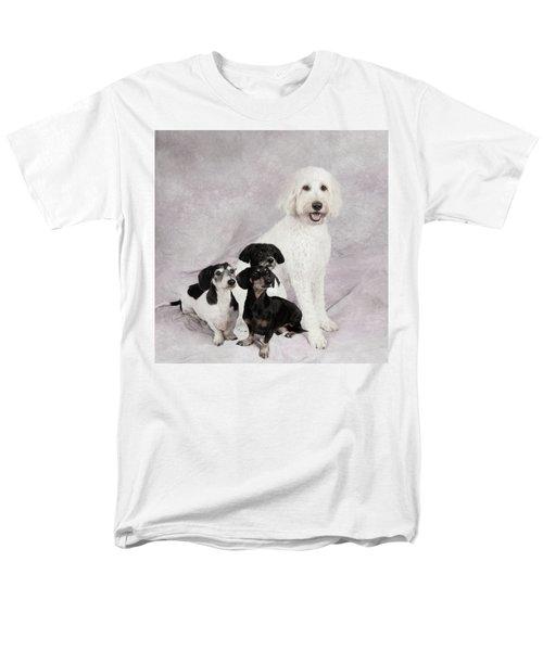 Fur Friends Men's T-Shirt  (Regular Fit) by Erika Weber