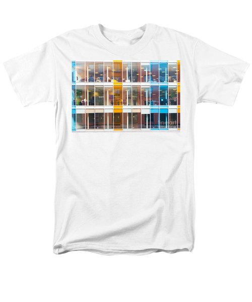 Office Windows Men's T-Shirt  (Regular Fit) by Colin Rayner